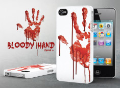 Coque iPhone 4/4S Bloody Hand
