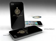 Coque iPhone 4/4S Inter Milan -Noir/Or