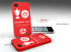 Coque Officielle iPhone 4/4S Lille Metropole LOSC - Doublé 2011