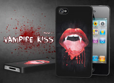 Coque iPhone 4/4S Vampire Kiss