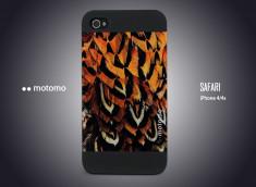Coque iPhone 4/4S Motomo Safari - Birds