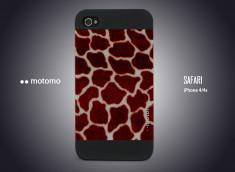 Coque iPhone 4/4S Motomo Safari - Girafe