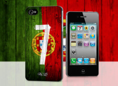 Coque iPhone 4/4S Coupe du Monde 2014-Portugal