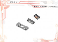 Kit Boutons POWER / VOLUME / MUTE iPhone 4