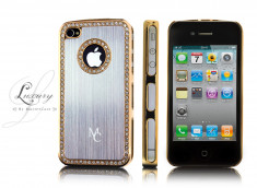 Coque iPhone 4/4S Luxury par Master Case-Or