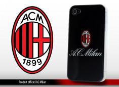"Coque Officielle iPhone 4 ""A.C. Milan"""