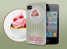 Coque iPhone 4/4S Cupcakes Addict