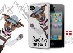 Coque iPhone 4/4S Savoie Dog