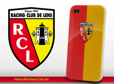 "Coque Officielle iPhone 4 ""Racing Club de Lens"""
