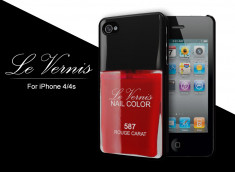 Coque iPhone 4/4S Le Vernis-Rouge Carat