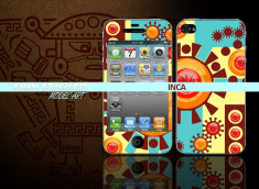 Skin sticker inca