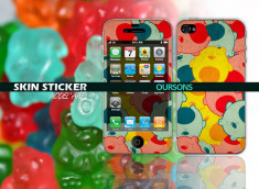 Skin sticker oursons