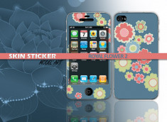 Skin sticker royal flower2