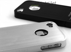 Coque iPhone 4/4S SP1 Metal Set by Crossline