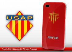 "Coque Officielle iPhone 4 ""USAP"" - Rouge"