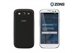 Façade arrière noire Samsung Galaxy S3 pour Recharge par induction