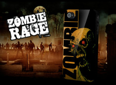 "Coque iPhone 4 ""Zombie Rage"""