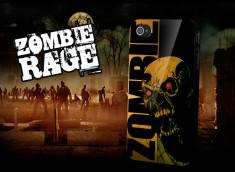 """Coque iPhone 4 """"Zombie Rage"""""""