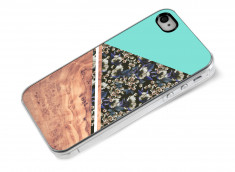 Coque iPhone 4/4S Blue Floral