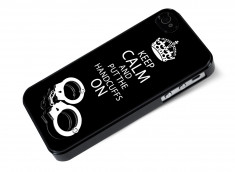 Coque iPhone 4/4S 50 Shades of Grey-Handcuffs