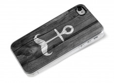 Coque iPhone 4/4S Moustache Anchor