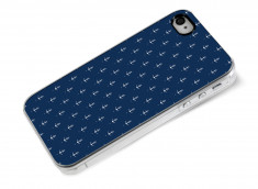 Coque iPhone 4/4S Blue Little Ancho