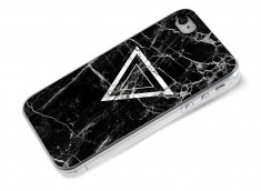 Coque iPhone 4/4S Black Marble