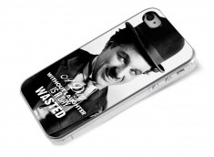 Coque iPhone 4/4S The Icons- Charlie Chaplin