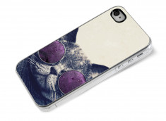Coque iPhone 4/4S Cat Glasses