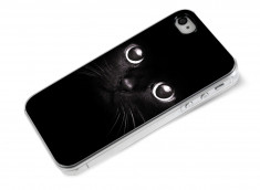 Coque iPhone 4/4S Chat Noir