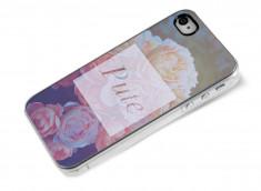 Coque iPhone 4/4S Dites-le avec des fleurs- Pute