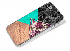 Coque iPhone 4/4S Floral Marble