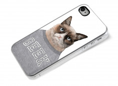 Coque iPhone 4/4S Grumpy Geek