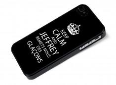 Coque iPhone 4/4S Keep Calm Jeffrey
