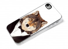 Coque iPhone 4/4S Smart Zoo- Loup