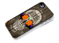 Coque iPhone 4/4S Flowers Skull