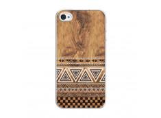 Coque iPhone 4/4S Aztec Deco Translu
