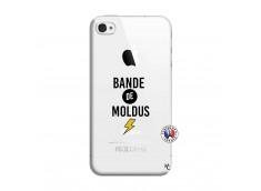 Coque iPhone 4/4S Bandes De Moldus