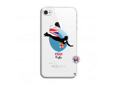 Coque iPhone 4/4S Coupe du Monde Rugby Fidji