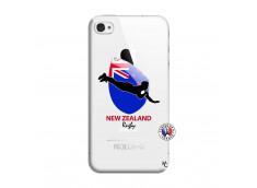 Coque iPhone 4/4S Coupe du Monde Rugby- Nouvelle Zélande