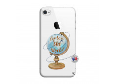 Coque iPhone 4/4S Globe Trotter