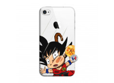 Coque iPhone 4/4S Goku Impact