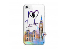 Coque iPhone 4/4S I Love London