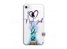 Coque iPhone 4/4S I Love New York