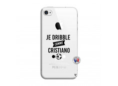 Coque iPhone 4/4S Je Dribble Comme Cristiano