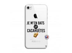 Coque iPhone 4/4S Je M En Bas Les Cacahuetes