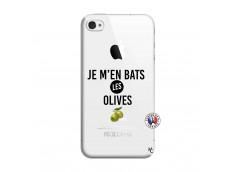 Coque iPhone 4/4S Je M En Bas Les Olives