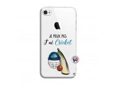 Coque iPhone 4/4S Je peux pas j'ai cricket