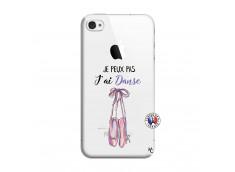 Coque iPhone 4/4S Je peux pas j'ai danse