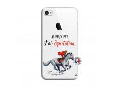 Coque iPhone 4/4S Je Peux Pas J Ai Equitation